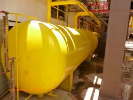 Reservatórios de amônia, GLP e outros gases